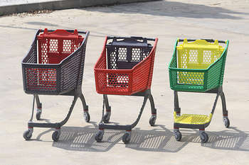 Shopping carts - foto di Polycart
