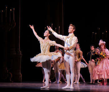 Hee Seo and James Whiteside, American Ballet Theatre, Cinderella, June 9, 2014