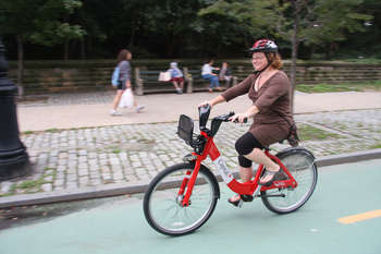 Bike share comes to Prospect Park West