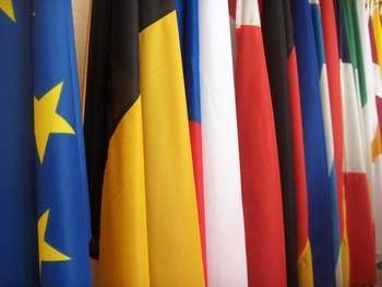 Eu flags - Photo credit: tristam sparks / Foter / CC BY-NC-ND