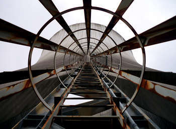 Cooling Tower Ladder