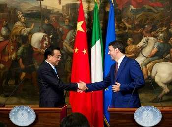 Firma accordi Italia-Cina - foto di Governo.it