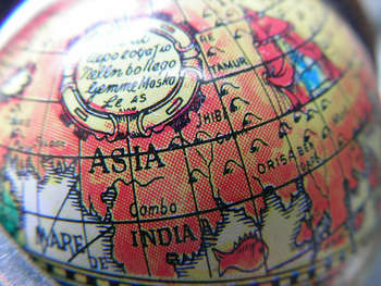 Asia - Photo credit: eprouveze / Foter / CC BY-NC-SA