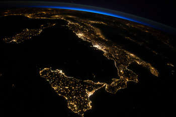 Italia Dallo Spazio (NASA, International Space Station, 07/26/14)
