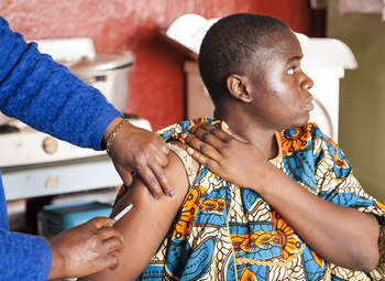 Vaccination in Cameroun
