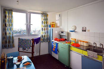 Balfron Tower / kitchen