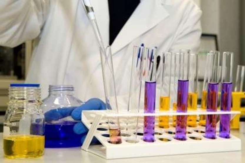 Vaccine research NVGH test tube