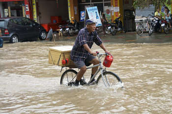 Flood in Cambodia