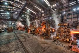 Steelworks company, Vicenza, Italy