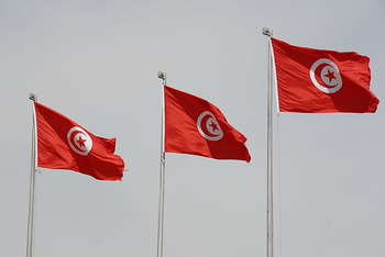 Flag of Tunisia - Author US Army Africa