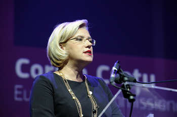 Corina Cretu - Author: Open Days - European Week of Cities and Regions / photo on flickr