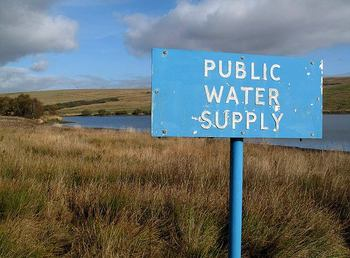 Public water supply - © Copyright Walter Baxter