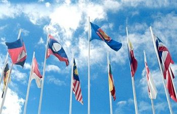ASEAN Flags - Photocredit asean.org