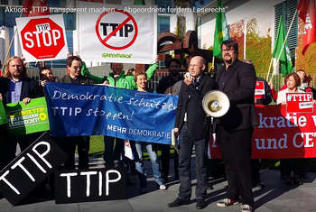 Stop TTIP - Photo credit: Mehr Demokratie e.V. via Remodel Blog / CC BY-SA