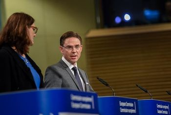 Malmstrom, Katainen - © European Union , 2016 / Source: EC - Audiovisual Service / Photo: Jennifer Jacquemart