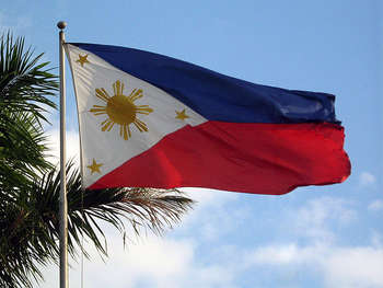 Flag of Philippines - Author Mike Gonzalez (TheCoffee)