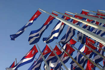 Cuban flag - Photo credit: Indrani Soemardjan via Foter.com / CC BY-NC-ND