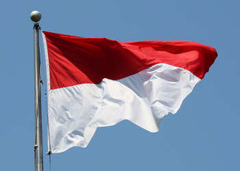 Indonesia Flag - Photo credit Mr.TinDC