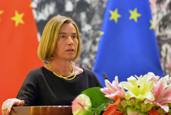 Federica Mogherini - photo credit European Commission