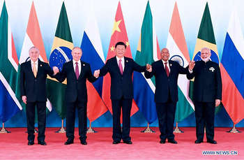 BRICS Summit 2017 - Photo credit www.brics2017.org