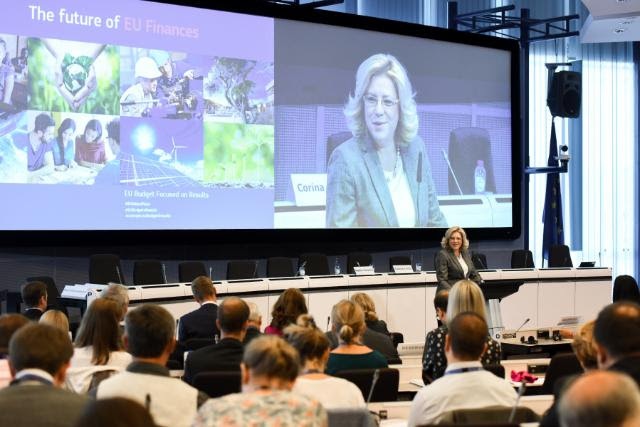 Corina Cretu - The Future of EU Finance