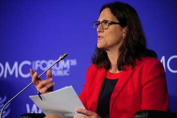 Cecilia Malmstroem - Photo credit: World Trade Organization via Foter.com / CC BY-SA