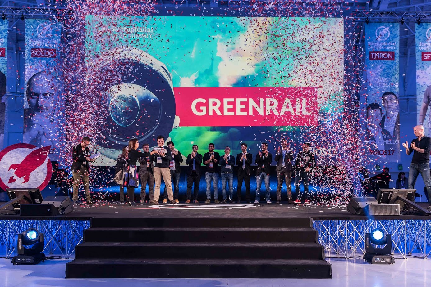 Greenrail - foto di StartupItalia Open Summit