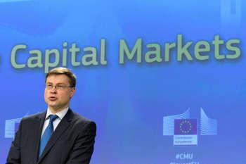 Valdis Dombrovskis - © European Union , 2018 / Source: EC - Audiovisual Service / Photo: Georges Boulougouris