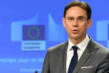 Katainen © European Union , 2018/Photo: Georges Boulougouris