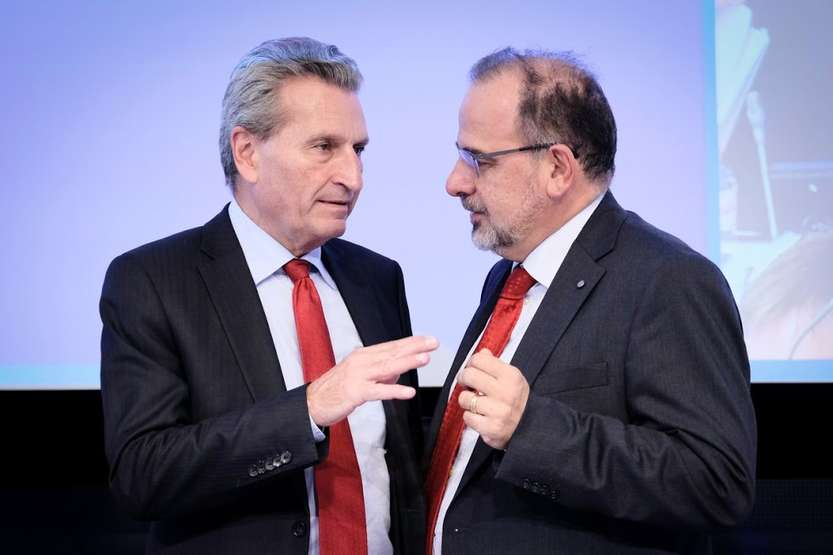 Oettinger e Jahier - photo credit: CESE