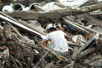 Earthquake Indonesia - Author Pfc. Nicholas T. Howes, USMC