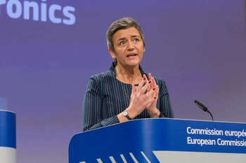 Margrethe Vestager © European Union, 2018/Source: EC - Audiovisual Service/Photo: Basia Pawlik