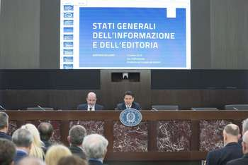 Stati generali editoria - Photo credit: Palazzo Chigi