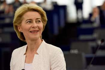 Ursula von der Leyen - Photo credit: Source: EC - Audiovisual Service - European Union, 2019 - Photographer: Etienne Ansotte