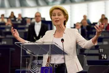 Ursula von der Leyen - Photo credit: European Union, 2019 Source: EC - Audiovisual Service - Photographer: Etienne Ansotte