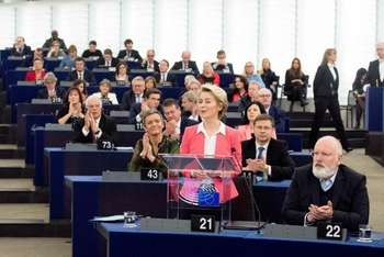 Ursula von der Leyen: Photocredit: Commissione Europea