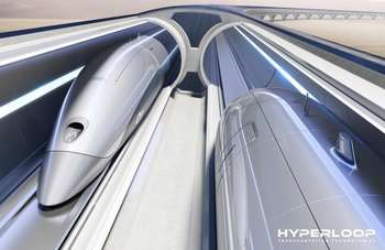 Hyperloop Italia - Photocredit: Hyperloop Transportation Technologies