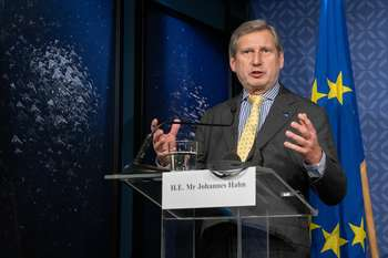 Johannes Hahn - Photocrdit: European Union, 2020 Source: EC - Audiovisual Service