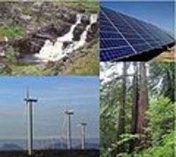 Different types of renewable energy - Foto di Trygvetv