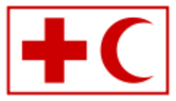 The official emblem of the International Federation of Red Cross and Red Crescent Societies - IFRC