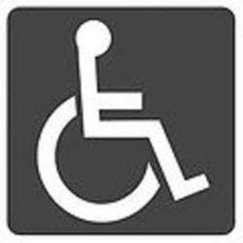 Handicapped Accessible Sign - Immagine di Jonba00