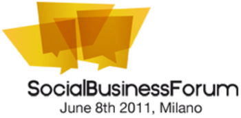 logo social business forum