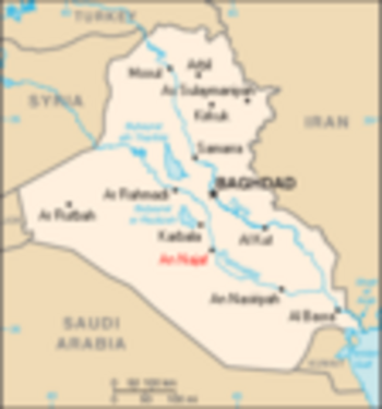 Map of Iraq - immagine di Bontenbal