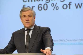 Antonio Tajani - European commission credit