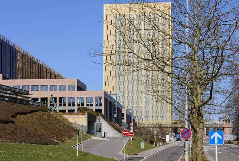Buildings of the European Court of Justice - immagine di Cayambe