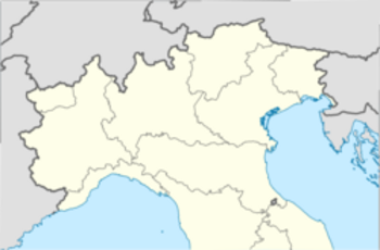 Italy location map - immagine di EH101