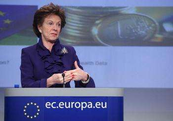 Neelie Kroes - European commission credit