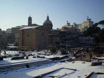 Rome, after the snowfall of 3-4 february 2012 - foto di Barbaking
