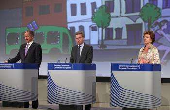 Kallas, Oettinger e Kroes - Credit © European Union, 2012