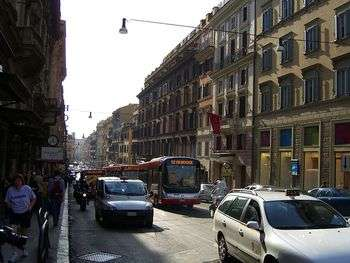Traffic Rome - Foto di Flickr upload bot